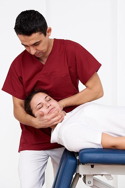Trattamento di terapia manuale